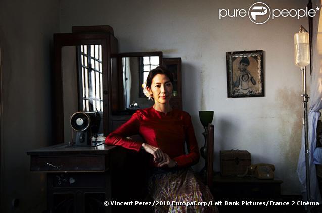 Une image du film Dans la lumière (The Lady) réalisé par Luc Besson