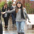 Jennifer Garner en promenade avec ses deux filles à Los Angeles (22 décembre 2010)