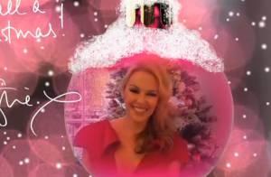Kylie Minogue, surexcitée par les fêtes, vous souhaite un joyeux Noël !