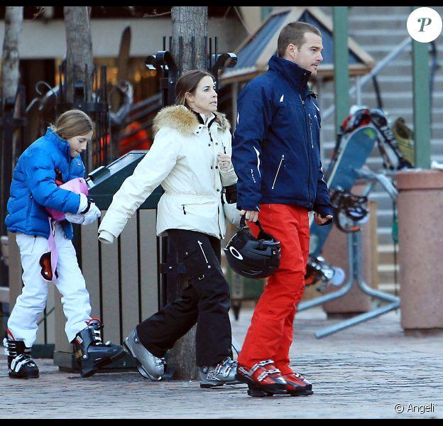 L'acteur Chris O'Donnell va faire du ski en famille à Aspen le 28 décembre 2010