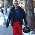 Chris O'Donnell profite des joies du ski dans la station d'Aspen le 28 décembre 2010 avec sa famille