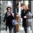 Eva Longoria et Marcia Cross lors de leur shopping de Noël il y a quelques jours, fin décembre 2010 à Los Angeles...