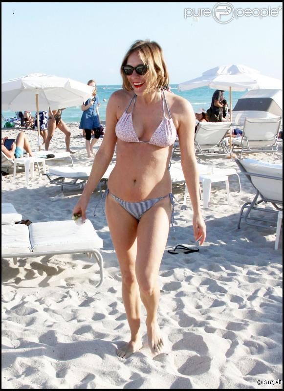 Chloë Sevigny passe de douces vacances à Miami. 2 janvier 2011
