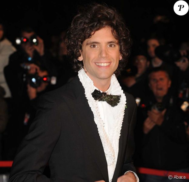 Mika, NRJ Music Awards, Cannes, janvier 2010