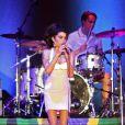 Amy Winehouse en concert le 8 janvier 2011 à Florianopolis, au Brésil, dans le cadre du festival Summer Soul 2011.