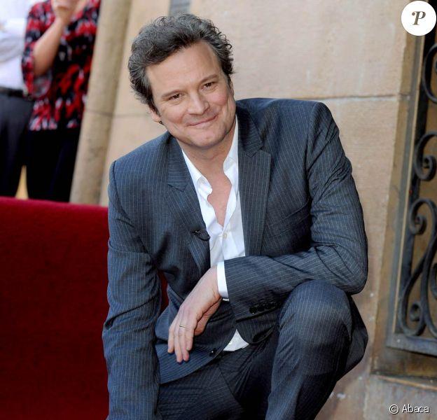 Colin Firth à l'occasion de l'hommage rendu à l'acteur anglais sur le Walk of Fame, à Los Angeles, le 13 janvier 2011.