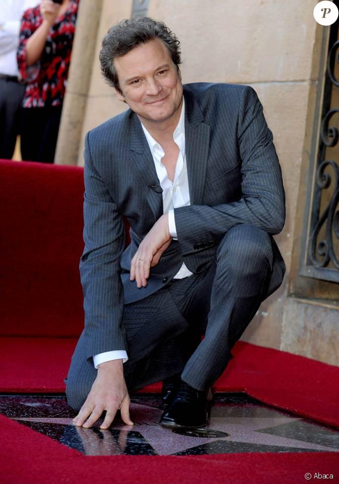 Colin Firth à l'o...