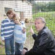 Yves Rénier et ses fils Jules et Oscar