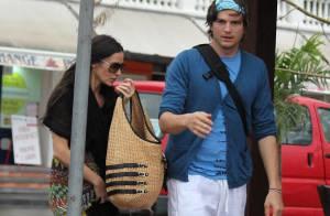 Demi Moore et Ashton Kutcher : C'est un amour de vacances...