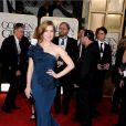 Amy Adams lors des Golden Globes le 16 janvier 2011 à Los Angeles