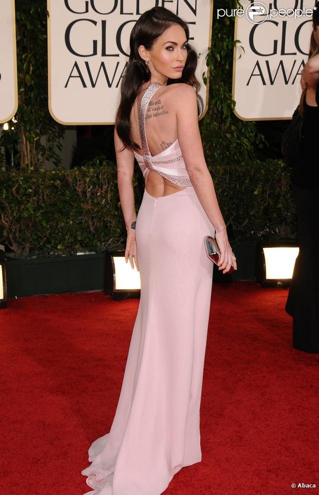 Megan Fox lors des Golden Globes le 16 janvier 2011 à Los Angeles