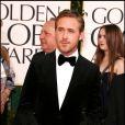 Ryan Gosling lors des Golden Globes le 16 janvier 2011 à Los Angeles