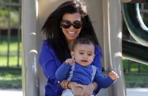 Kourtney Kardashian : Maman exemplaire et moment de tendresse avec son Mason !