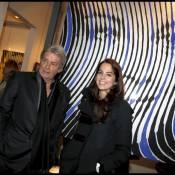 Quand Alain Delon et sa fille Anouchka posent aux côtés de Romy Schneider !