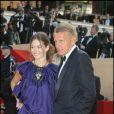 Patrick Poivre d'Arvor et Agathe Borne (qui l'accuse de contrefaçon), festival de Cannes, mai 2008