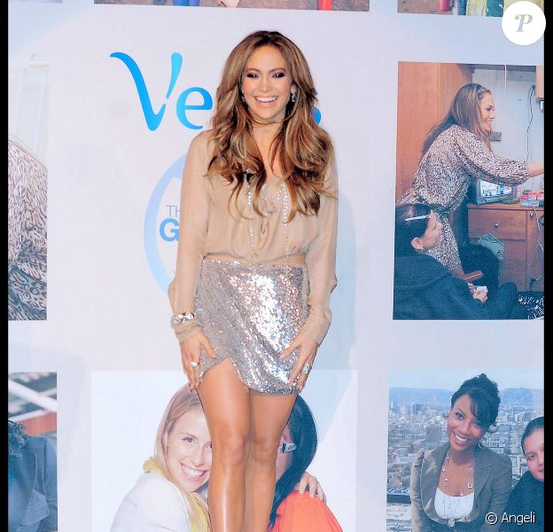 Jennifer Lopez à New York, le 2 février 2011.