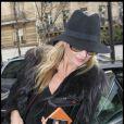 """""""Kate Moss quitte l'hôtel du Ritz à Paris, le 3 février 2011."""""""