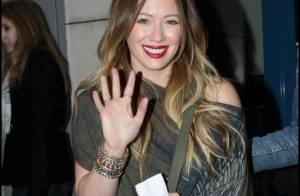 Hilary Duff : Sa promo se poursuit à Paris... mais elle sait se faire plaisir !