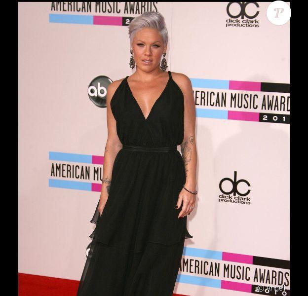 Pink, en novembre 2010, à Los Angeles, pour les American Music Awards 2010.