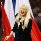 Quand Christina Aguilera dérape devant Jennifer Aniston et Michael Douglas !