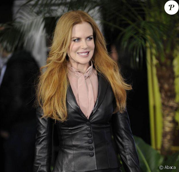 La ravissante Nicole Kidman à l'occasion de l'avant-première du Mytho, qui s'est tenue au Ziegfeld Theatre de New York, le 8 février 2011.