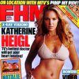 Ci-dessus, une très sexy Katherine Heigl en couverture de FHM ... Si seulement nos médecins français lui ressemblaient !