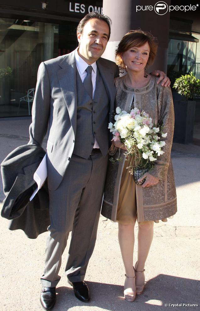 Mariage de Claude Chirac et Frédéric Salat-Baroux, le 11 février 2011