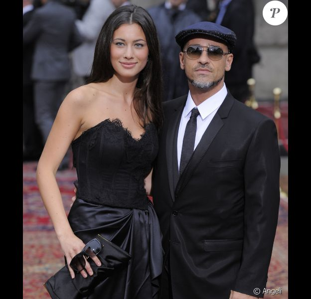 Eros Ramazzotti et sa chérie Marica Pellegrinelli