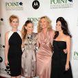 Sarah Jessica Parker, Kim Cattrall, Cynthia Nixon et Kristin Davis