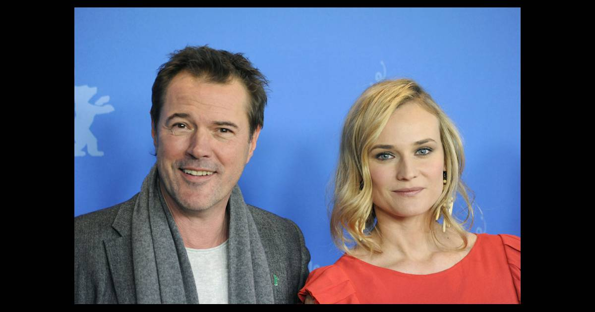 sebastian koch et diane kruger lors du photocall de sans identit au festival de berlin le 18. Black Bedroom Furniture Sets. Home Design Ideas