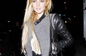 Lindsay Lohan sur un nuage avec Samantha Ronson, elle risque toujours la prison!