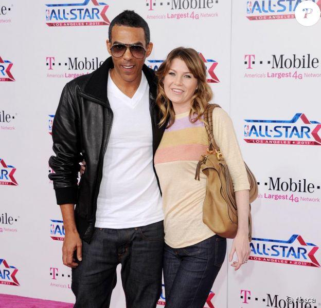 Chris Ivery et Ellen Pompeo à la soirée des NBA All-Star Game, à Los Angeles le 20 février 2011