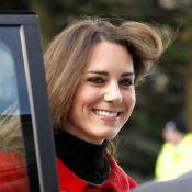 Kate Middleton, rouge passion, revient avec William là où leur amour est né !