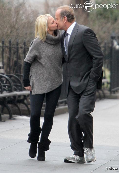 Kelsey Grammer et Kayte Walsh à New York en janvier 2011