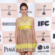 Natalie Portman : Enceinte, elle rayonne, encore récompensée pour Black Swan !