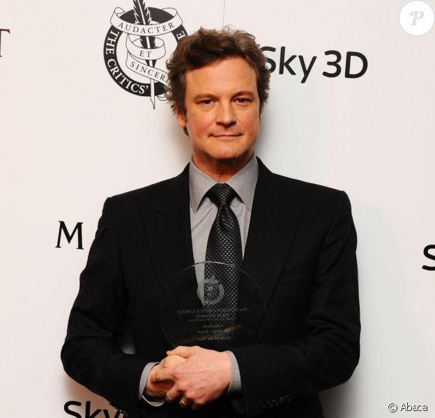 Colin Firth nominé pour l'Oscar du meilleur acteur 2011.
