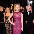 Scarlett Johansson à la cérémonie des Oscars à Los Angeles, le 27 février 2011..