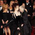 Helena Bonham Carter à la cérémonie des Oscars à Los Angeles, le 27 février 2011.