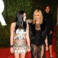 """""""Steven Tyler et sa ravissante fille Liv Tyler lors de la soirée oré-Oscars Vanity Fair à Los Angeles le 27 février 2011"""""""