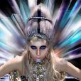 Des images extraites du clip  Born This Way  de Lady Gaga, février 2011