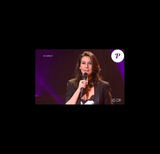Marie Drucker (photo) co-anime avec Aline Afanoukoé la seconde moitié des Victoires de la Musique 2011, mardi 1er mars sur France 2.