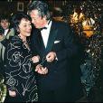 Annie Girardot et Alain Delon aux César en 1996