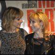 Karin Viard et Audrey Lamy lors de l'avant-première du film Ma part du gâteau à Paris le 8 mars 2011
