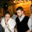 Justin Timberlake et Jessica Biel en 2007 à Stockholm