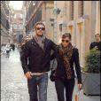 Justin Timberlake et Jessica Biel à Rome en septembre 2008