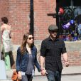 Justin Timberlake et Jessica Biel en mai 2010 à New York