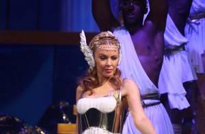 Kylie Minogue : Un show parisien au summum du kitsch et de l'extravagance...