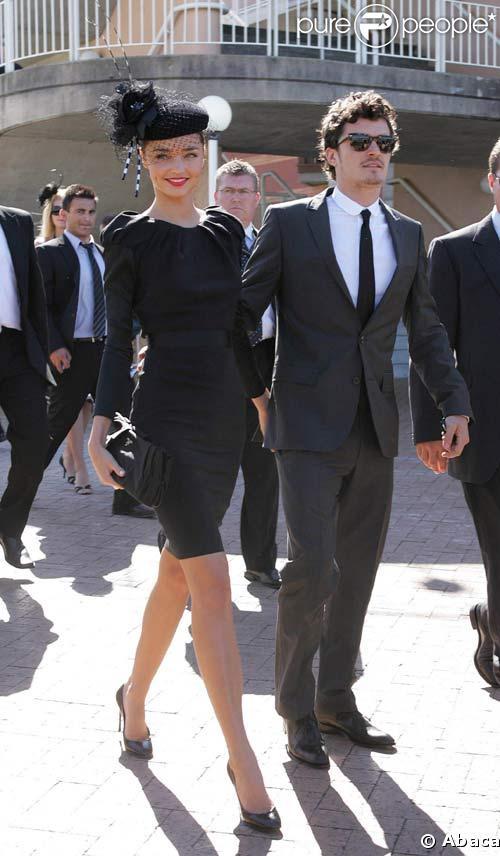Miranda Kerr et Orlando Bloom aux MTV Australia Awards, le 26/04/08