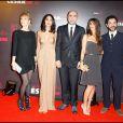 L'équipe de Tout ce qui brille : Audrey Lamy, Leïla Bekhti, Hervé Mimran, Géraldine Nakache et Manu Payet