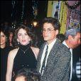 Rob Lowe et Melissa Gilbert en 1987